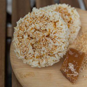 29-Galettes de riz maison caramel et sesame