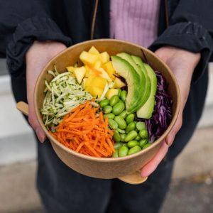 6-Pokebowl végétarien base riz